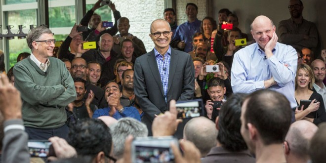 Satya Nadella's First Interview As Microsoft CEO