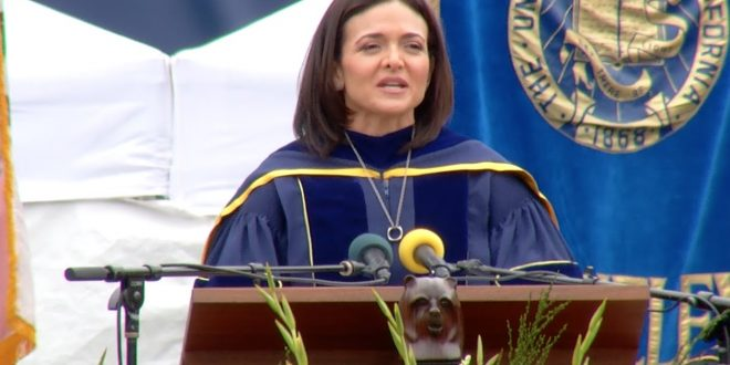 7 Lessons To Learn From Sheryl Sandberg's 2016 commencement Speech At UC Berkley