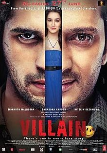 Ek Villain - Hindi Film - Poster