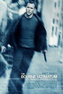 The Bourne Ultimatum (2007 film) poster