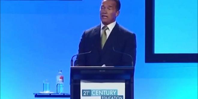 An Inspirational Speech by Arnold Schwarzenegger   Words of Inspiration