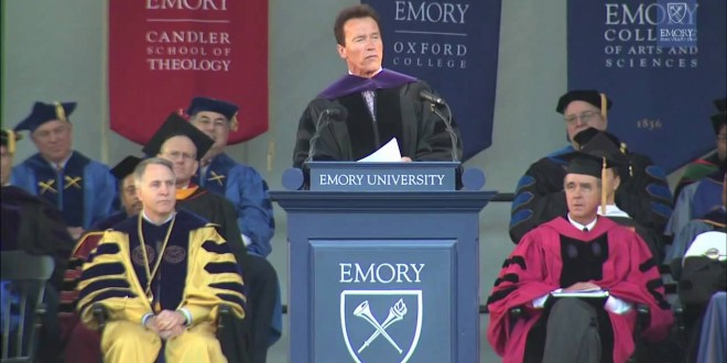Arnold Schwarzenegger Commencement Keynote Address At EMORY University | Words of Wisdom and Inspiration