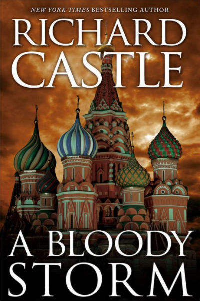 A Bloody Storm By Richard Castle - Book Cover