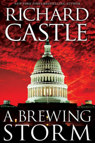 A Brewing Storm By Richard Castle - Book Cover