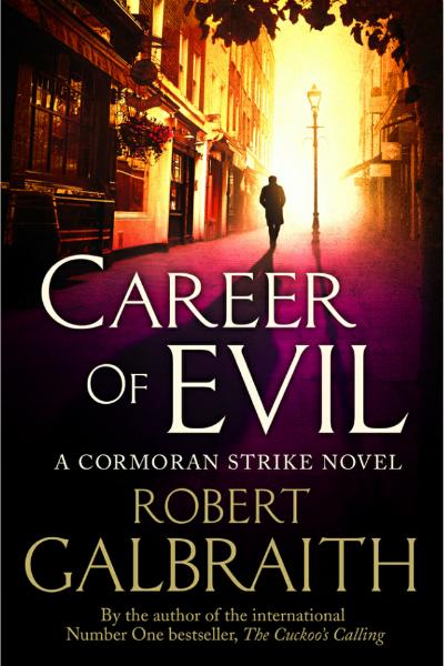 Career Of Evil - Book Cover Page