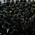 Graduates In Black Cap