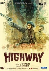 Highway - Hindi Movie - DVD Cover