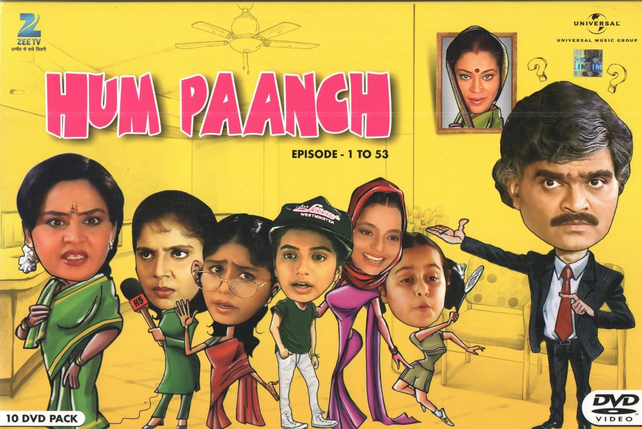 Hum Paanch - TV Serial - DVD Set Cover