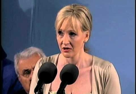 J K Rowling's Commencement Speech At Harvard University | Words Of Wisdom