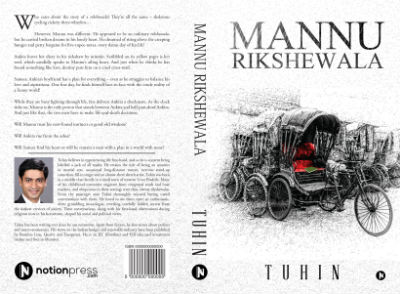 Mannu Rikshewala - A Book By Tuhin Harit - Cover Page