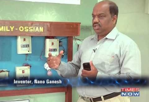 Nano Ganesh | Mobile App to control Pumps for the Farmers | News