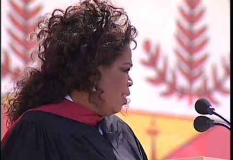 Oprah Winfrey's Commencement Speech At Stanford University   Words Of Wisdom
