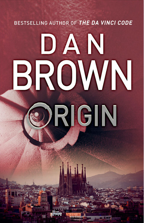 Origin - a book by - Dan Brown - Cover Page