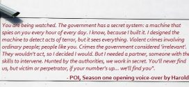 Reviews For Pilot Episode Of Person Of Interest TV Series (Season 1)