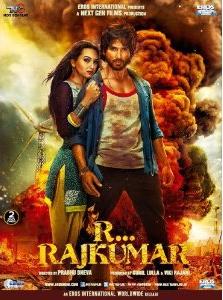 R...Rajkumar - Hindi Film - Poster