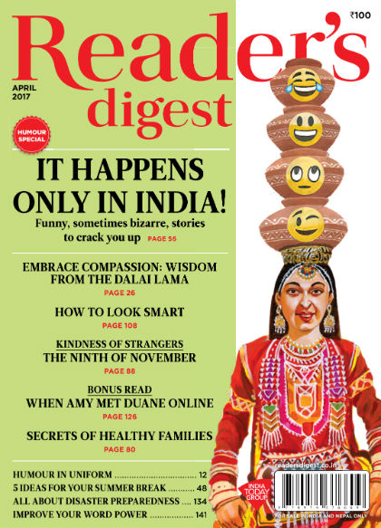 Reader's Digest (India Edition) : April 2017 Issue : Magazine Cover