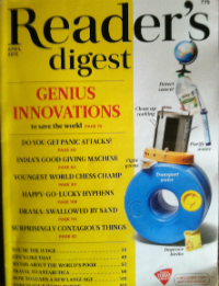 Reader's Digest India | April 2015 Issue | Magazine Reviews