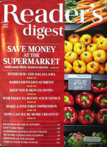 Reader's Digest (India) - Jul 2015 - Cover