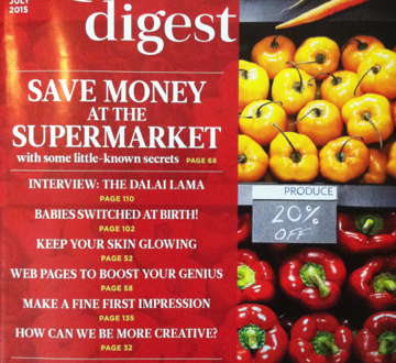 Reader's Digest India | July 2015 Issue | Magazine Reviews