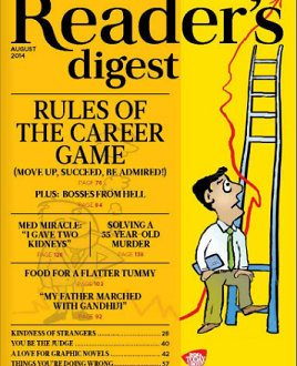 Reader's Digest India | August 2014 Issue | Magazine Reviews
