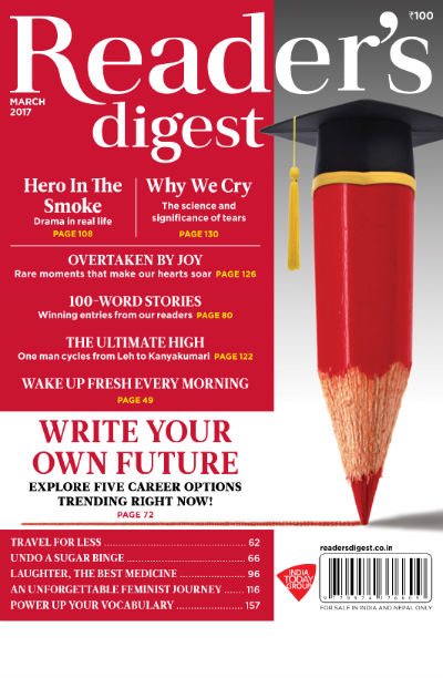 Reader's Digest Magazine (India Edition) - March 2017 Issue - Cover Page