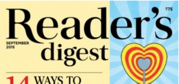 Reader's Digest India | September 2015 Issue | Magazine Reviews