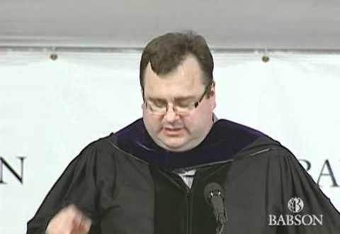 Reid Hoffman's Commencement Speech At Babson College | Words Of Inspiration