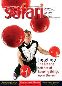 Safari Magazine - Dec 2014 Issue - Cover Page