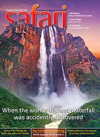 Safari - Jan 2015 issue - cover page