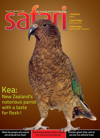 Safari - May 2014 Issue - Cover Page