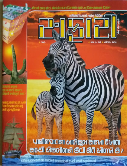 Safari Magazine - Gujarati Edition - November 2017 Issue - Cover Page