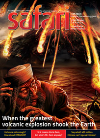 Safari - Oct 2014 issue - Cover Page
