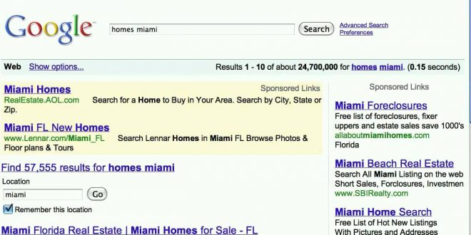 Search Real Estate And Housing | Google Search Tips And Tricks