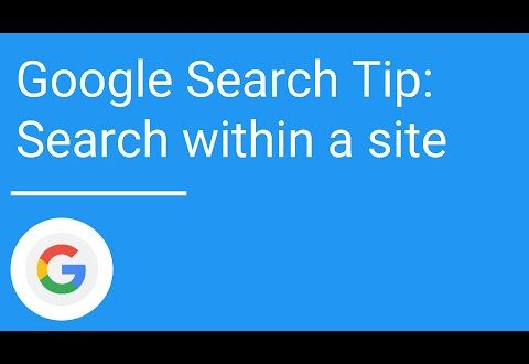 Search within a site or domain | Google Search Tips And Tricks
