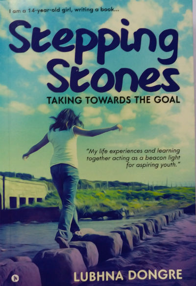 Stepping Stones by Lubhna Dongre - Book Cover