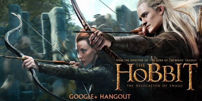 The Hobbit: The Desolation of Smaug | Google Hangout With The FilmMakers