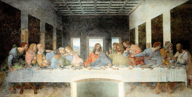 The Last Supper by Leonardo The Vinci