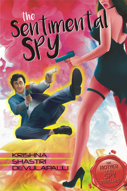The Sentimental Spy - Book Cover Page