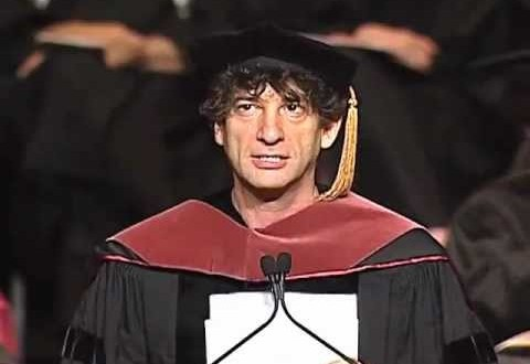 Things To Learn From Neil Gaiman's Commencement Speech