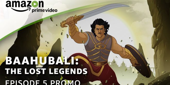 Tiger by The Tale | Episode 5 of Baahubali: The Lost Legends Animation Series | Views and Reviews