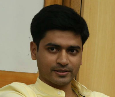 Tuhin Harit - Author of the book - Mannu Rikshewala