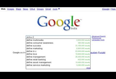 Use Google As Dictionary | Google Search Tips And Tricks