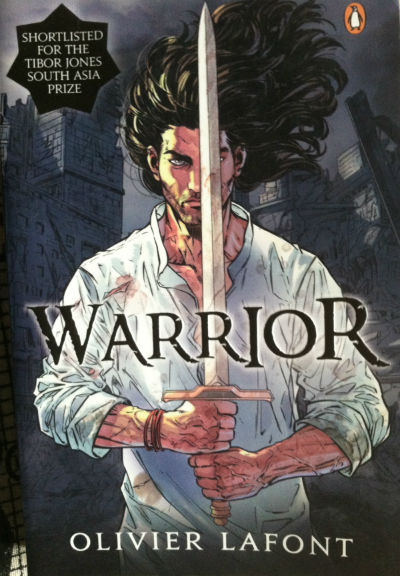 Warrior - by Olivier Lafont - Book Cover