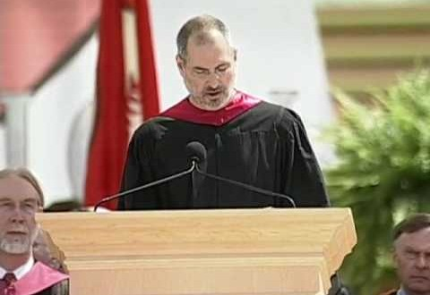 What We Learn from Steve Jobs' Commencement Speech at Stanford University