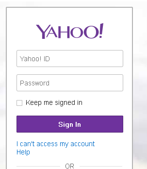 Yahoo Mail New Logo Round 2 - Main Page