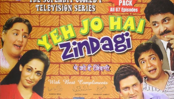 Raja In Depression : Yeh Jo Hai Zindagi TV Serial : Episode Reviews