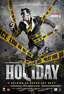 Holiday: A Soldier Is Never Off Duty - Movie Poster