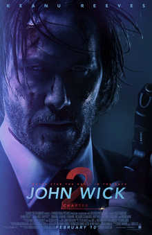 John Wick Chapter 2 - Movie poster