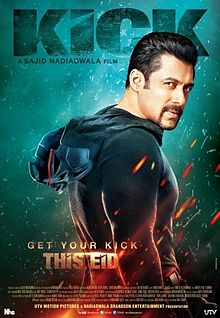 Kick - Bollywood Film - Poster