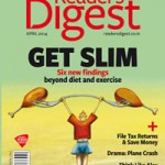 Reader's Digest - India - April 2014 - Cover Page